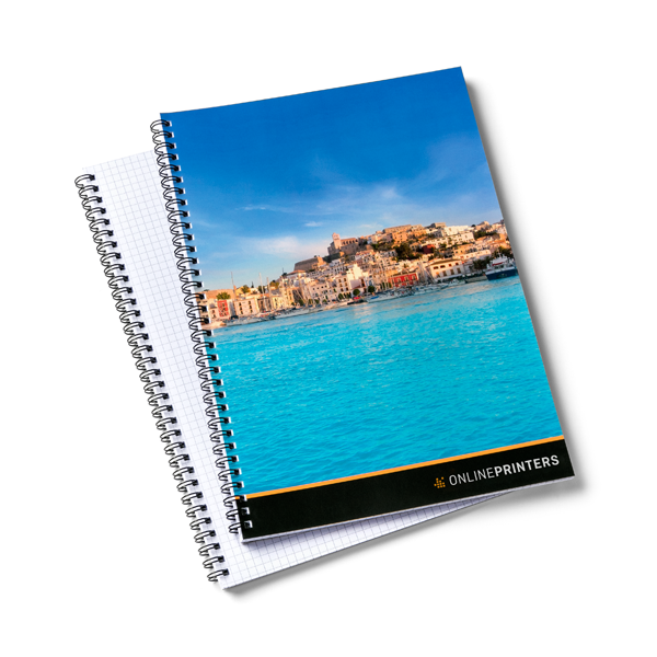 Spiral bound notepads