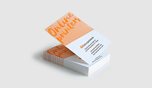 Business cards printing free delivery onlineprinters configure now letterpress business cards exceptional through relief structure configure now reheart Image collections
