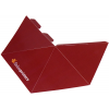 4-sided pyramid, die-cut, delivered flat (not assembled)