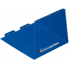 3-sided pyramid, die-cut, delivered flat (not assembled)