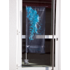 Window flag with suction cups for easy mounting and residue-free removal (Ill. is similar)