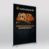 XXL Roller banner – up to 6 m² visible presentation surface at maximum (Ill. is similar)