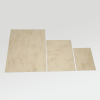 The brown marbled board in three available sizes