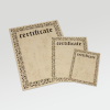 The certificate templates are available in German, English, French, Spanish, Italian and Dutch.