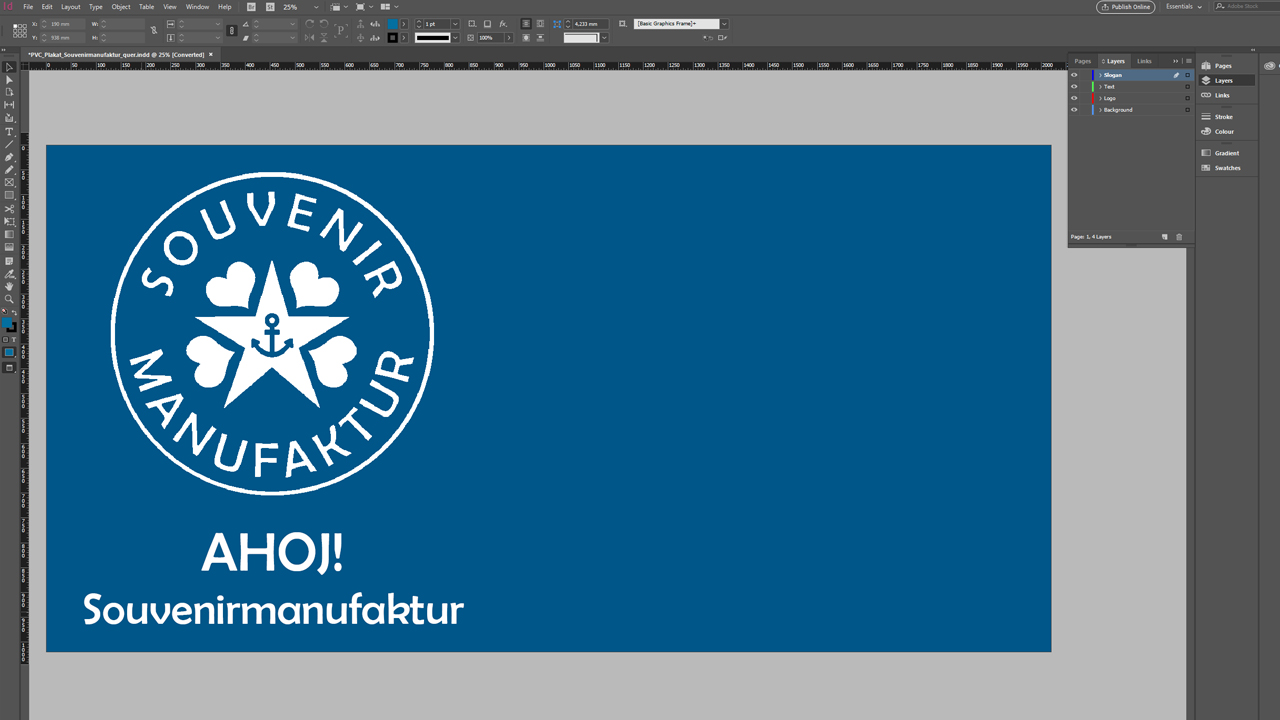 Banner Design Here Is How To Do It At The Example Of Ahoj Souvenirmanufaktur