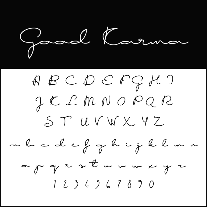 Write beautifully: with free cursive fonts to download